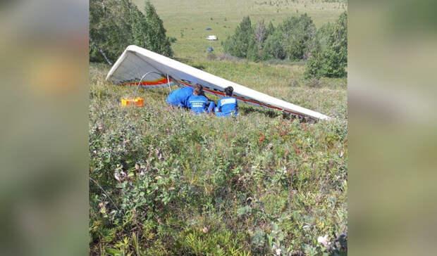 Свердловчанин разбился насмерть при падении дельтаплана в Башкирии