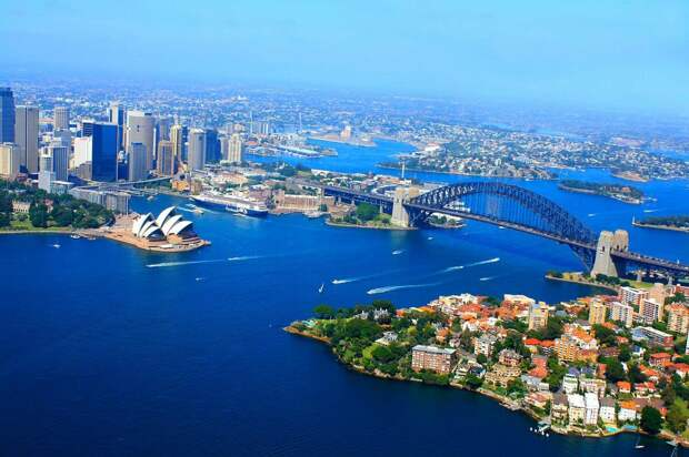 Бухта Сиднея - невероятно красивое место