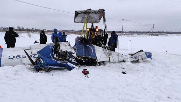 ФАН установил личности всех погибших в авиакатастрофе под Петербургом