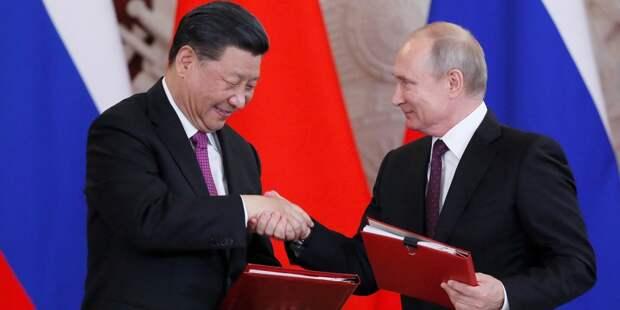 Си Цзиньпин поздравил Путина с 2020-м годом