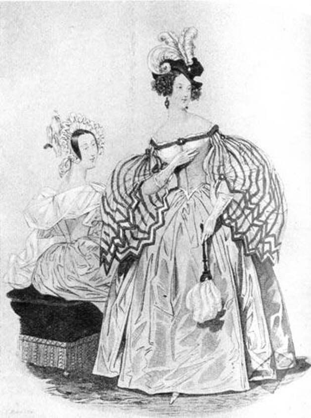 Пти Курье де Дам 1836