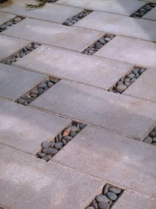 камни галька как использовать в интерьере при ремонте