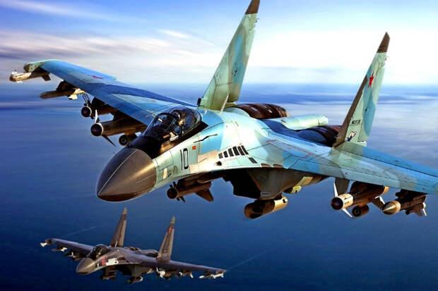 Полет Су-35 на сверхмалой высоте: ошеломительное мастерство пилота