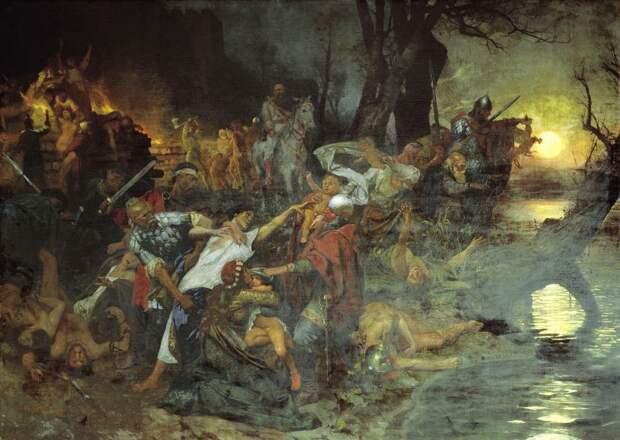 Ингвар, Хельга и Свендислейв, или как древнерусские князья делили Киев и боролись друг с другом / история, история Руси / Discours.io