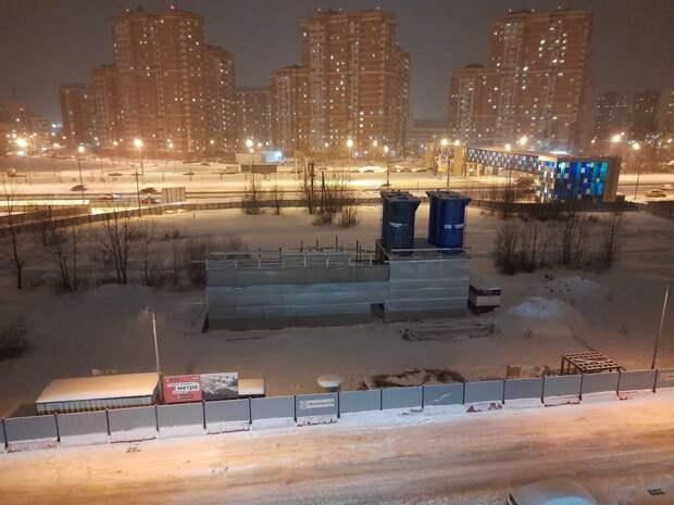 Фотокадр: строительство метро в Северном идет полным ходом