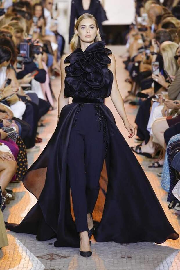 Неземные создания: Elie Saab Fall 2018/19 Couture Collection