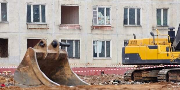 Самострои снесли в Хорошевском