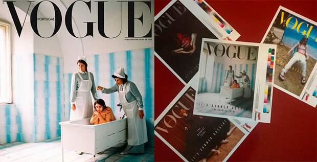 Португальской версии Vogue пришлось извиняться за свою новую обложку