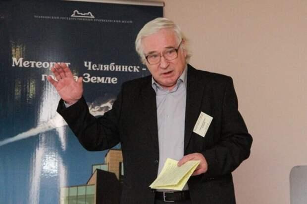 Умер ученый Александр Дудоров, исследовавший челябинский метеорит