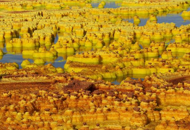 10 фото Долины смерти в Эфиопии − самого безжизненного места на Земле