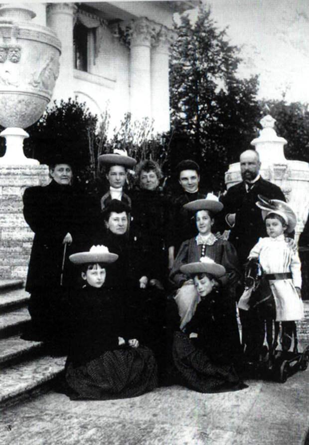 Семья Столыпиных. 1907 год