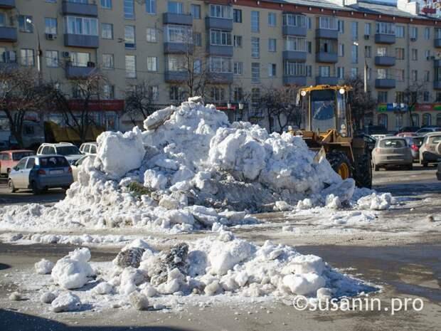 Ижевск вошел в список городов, где по мнению жителей хорошо убирают снег