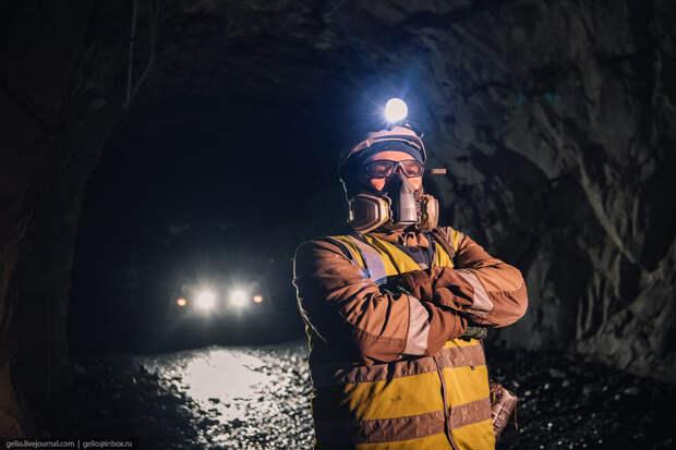 месторождение майское, чукотка, полиметалл, шахта, Подземный горный мастер