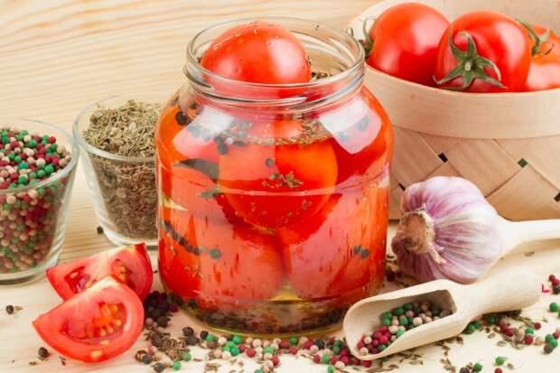 консервация помидоры в снегу