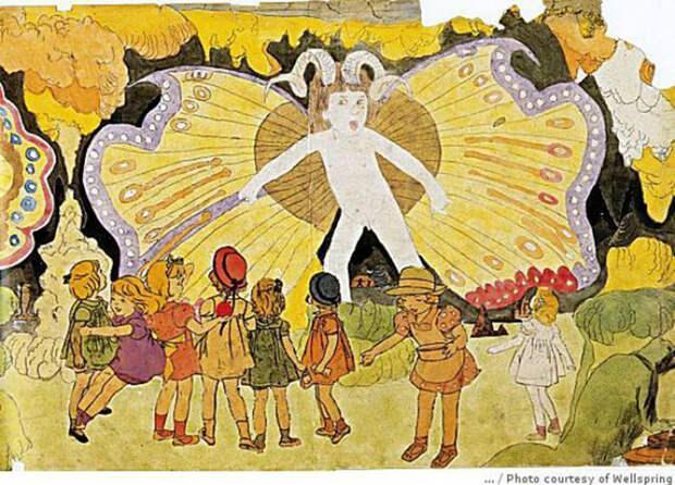 Как художник, признанный «умственно отсталым», 60 лет рисовал девочек-воительниц: Нереальное королевство Генри Дарджера