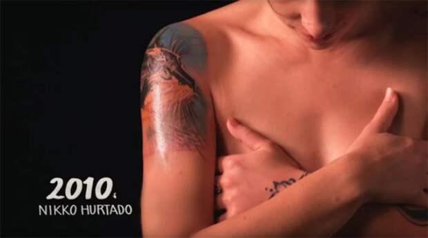 Первое десятилетие двадцать первого века отмечено портретными нательными рисунками от татуировщика Nikko Hurtado (Никко Хуртадо).