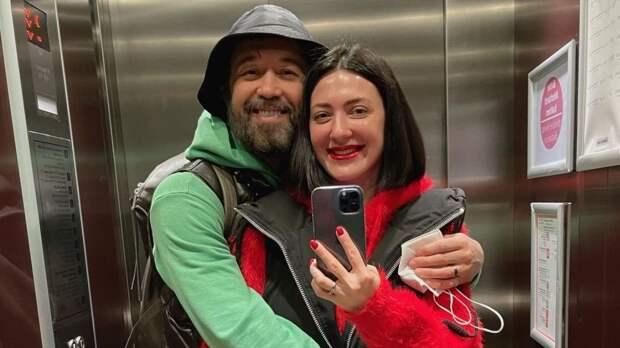 Сергей Бабкин с женой
