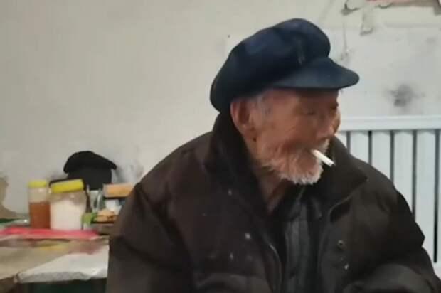 Курение, алкоголь иникаких ограничений веде: 100-летний китаец раскрыл свой секрет долголетия