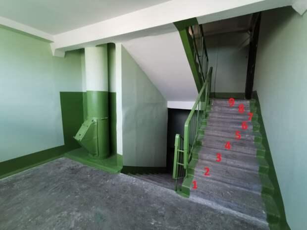 Почему в подъездах советских домов аккурат по 9 ступенек между пролетами