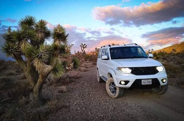 УАЗ «Патриот» будут продавать в США с мотором V8