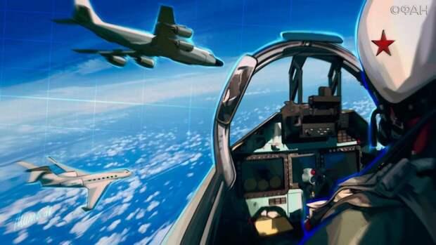 Шерин оценил «стенания» военных США из-за перехвата B-52 российским Су-27