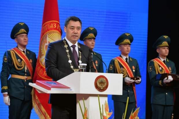 В Бишкеке состоялась инаугурация нового президента Киргизии