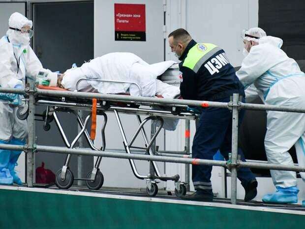 Оперштаб прокомментировал рост заболеваемости коронавирусом в Москве
