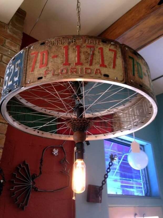 Нестандартное использование старого велосипеда: идеи для дома и сада