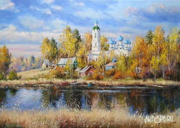 Художник Олег Пятин