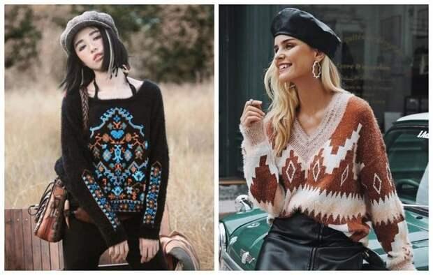 Стильные женские кофты 2019