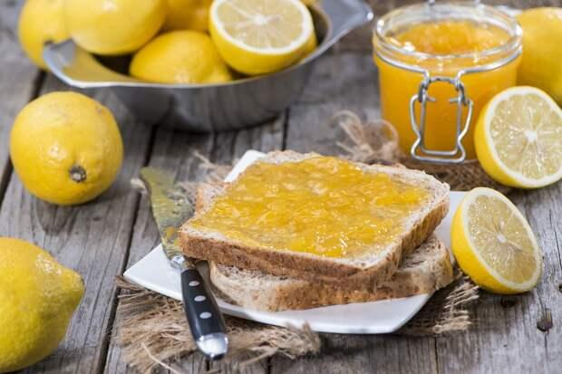 Варенье из лимонов без варки