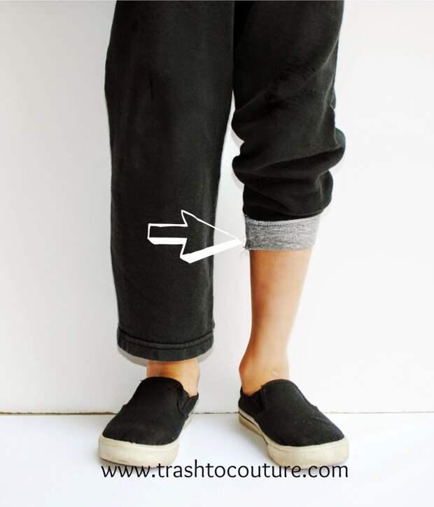 Манжеты на брюки (DIY)