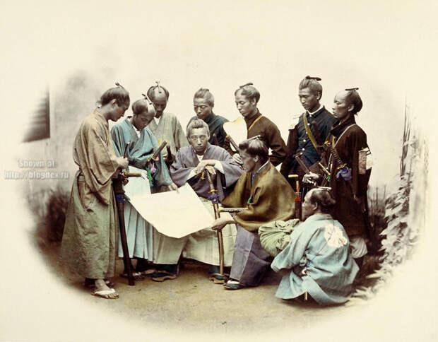 Настоящие самураи 19 века