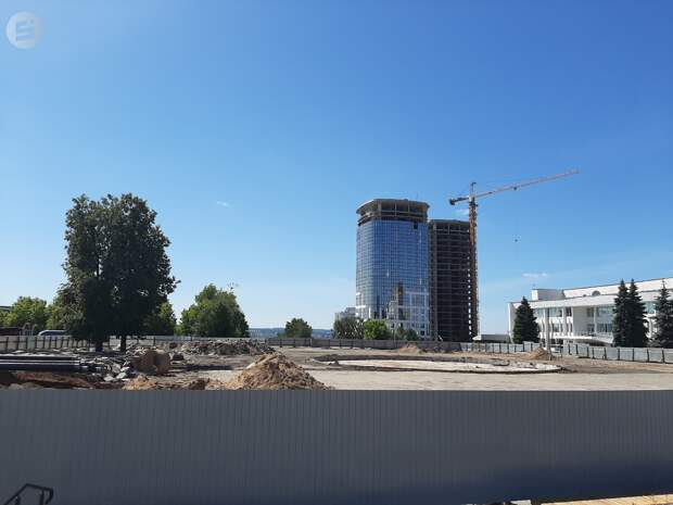 В Ижевске определились с подрядчиком для реконструкции третьей очереди Центральной площади
