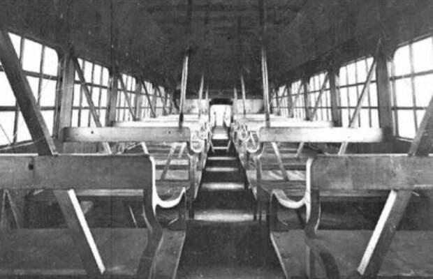 В салоне Caproni Ca.60 предусмотрены места для 100 пассажиров. | Фото: airwar.ru.
