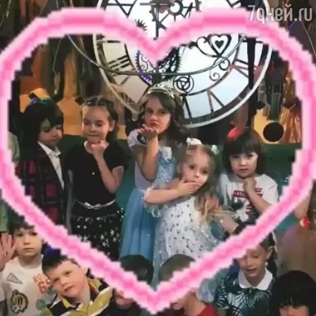 Кристина Орбакайте отметила день рождения дочки по-королевски