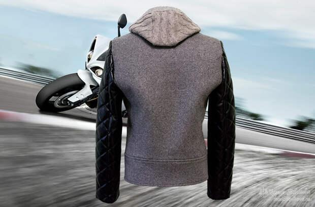 Куртка косуха своими руками вид сзади