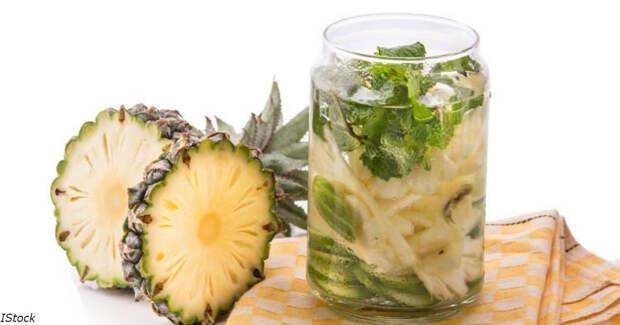 7 причин начать пить ананасную воду каждый день