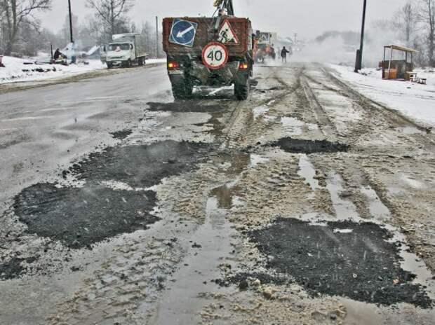 Региональных и местных дорог в 2016 году построят в шесть раз меньше, чем планировалось
