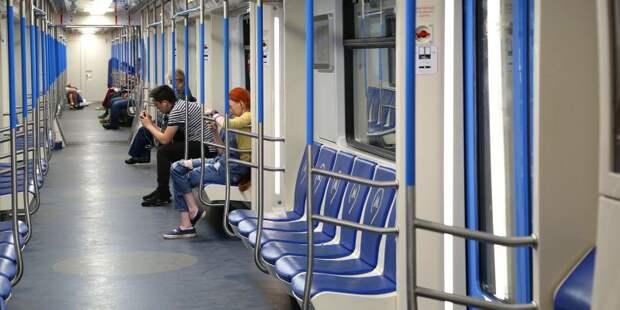 В московском метро начал курсировать тематический поезд «Город образования». Фото: mos.ru