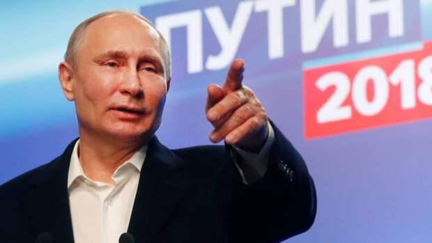 Во всём виноват Путин!