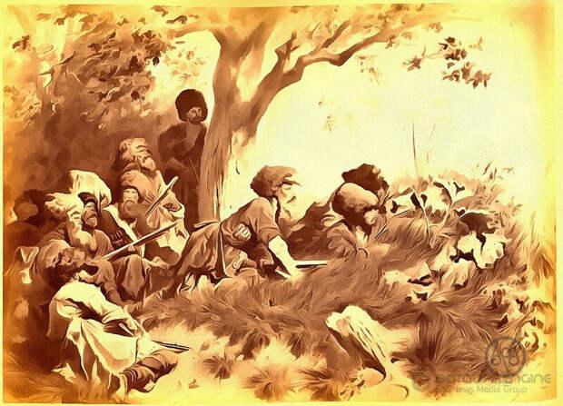 История черкесского клинкого оружия