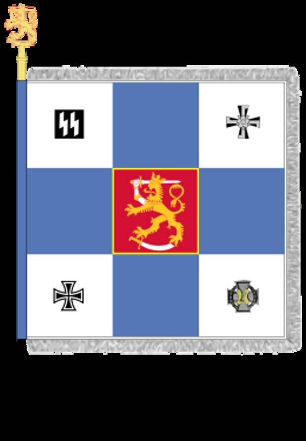 Флаг финских добровольцев СС
