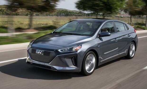 Hyundai Ioniq электромобиль