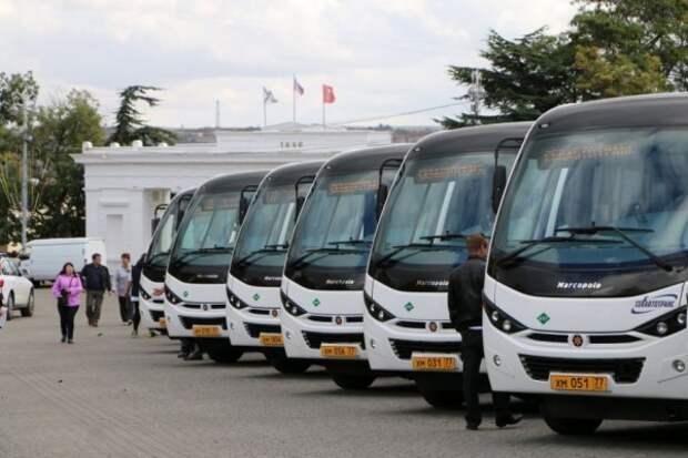 По севастопольским улицам начнут ездить новые автобусы