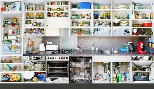 Кухни вразрезе