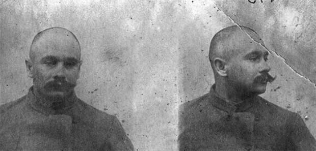 Фото Котовского из Кишинёвской тюрьмы