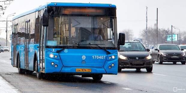 Маршруты автобусов №286 и 603 изменены из-за подтопления Малахитовой улицы