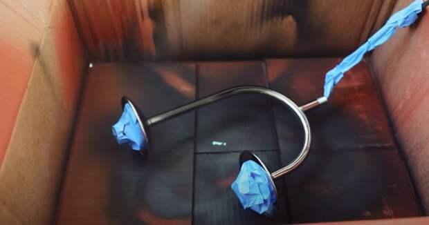 Доступный декор комнаты: переделка бюджетного светильника. Просто и очень стильно