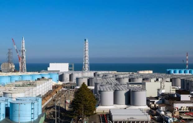 Власти Японии решились слить радиоактивную воду с АЭС в Фукусиме в океан